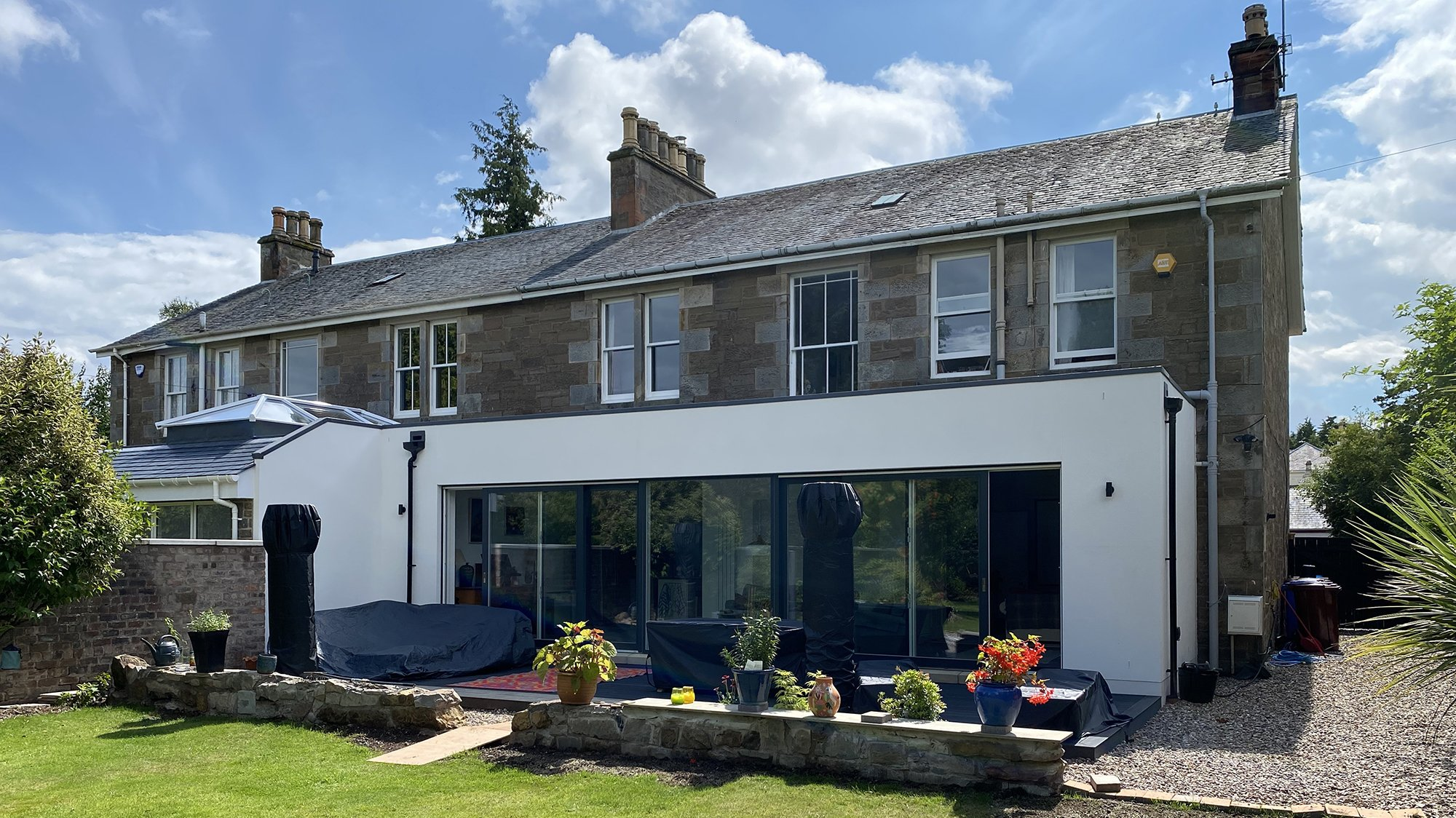 EXTENSIONS TO ADJOINING PROPERTIES, BROUGHTY FERRY